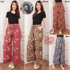 Jual Cj Colletion Celana Kulot Batik Panjang Wanita Jumbo Long Pant Asira Celana Kulot Asli