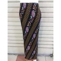 Cj colletion Rok span plisket batik wanita jumbo long skirt Aniya