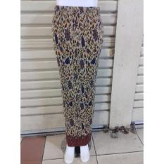 Cj Colletion Rok Span Plisket Batik Wanita Jumbo Long Skirt Cessa Asli