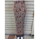 Harga Cj Colletion Rok Span Plisket Batik Wanita Jumbo Long Skirt Chrisie Asli