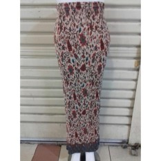 Spesifikasi Cj Colletion Rok Span Plisket Batik Wanita Jumbo Long Skirt Chrisie Terbaik