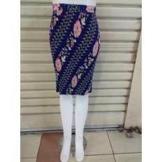 Toko Cj Colletion Rok Span Plisket Pendek Batik Wanita Jumbo Mini Skirt Felina Terlengkap Di Banten
