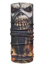CK Bandana 1512009 Buff Masker Multifungsi Motif Iron Maiden