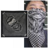 Promo Ck Zakdoek Zd016 Bandana Motif Fashion Man Skull Di Indonesia