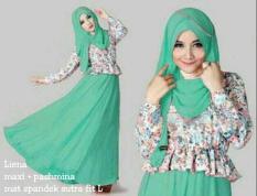 CKB Liena Hijab 3 Warna (Toska- Salem- Baby Pink)Setelan Muslim