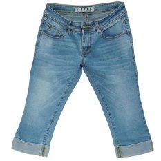 Model Ckey Celana Jeans Wanita 7 8 Nanggung Original 106 Terbaru