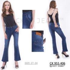 Tips Beli Ckey Celana Panjang Jeans Wanita Cutbray Original 406 Yang Bagus