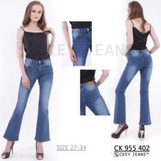 Tips Beli Ckey Ori Celana Panjang Cutbray Jeans Wanita 402