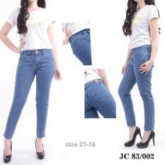 Ckey ORI Celana Panjang Jeans Boyfriend Wanita High Quality Jeans 83 / 002
