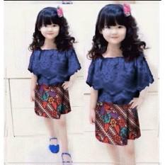 CC-STELAN ROK KID SIAUWEI batik  STELAN ANAK PEREMPUAN  PAKAIAN ANAK2  KID FASHION  FIT TO 3-5TH