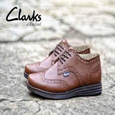 CLARKS PANTOPEL BROWN HIGHT QUALITY