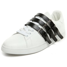 Harga Classic Men High Quality Buckle Casual Shoes Fashion Cool Sneakers Street Shoes Intl Online Tiongkok