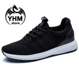 Classic Men High Quality Fly Line Breathable Sport Shoes Fashion Cool Sneakers Street Shoes Intl Oem Diskon 50