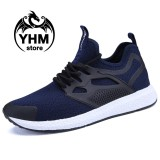 Diskon Classic Men High Quality Mesh Breathable Sport Shoes Fashion Cool Sneakers Street Shoes Intl Tiongkok