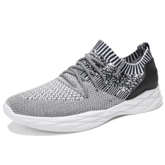 Classic Men High Quality Mesh Breathable Sport Shoes Trainers Sneakers Fly Line Comfortable Casual Shoes Intl Oem Diskon
