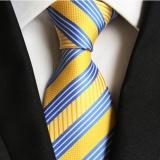 Jual Pria Klasik Formal Strip Komersial Tie Polyester Sutra Dasi Untuk Bisnis Kasual Pesta Pernikahan Vintage Ties Multicolor Intl Oem Ori