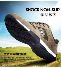 Klasik Unisex Sepatu Olahraga Kasual Flat Tidak Tergelincir Outdoor Hiking Sneakers Pria Wanita Breathable Walking Shoes Plus Ukuran Brown Sepatu 38 44 Oem Diskon