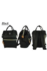 Spesifikasi Cllary Backpack 3 Way Hand Bag Kecil Hitam Intl