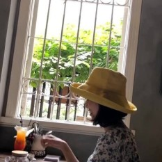 Cloth hat cotton numb the series lady fisherman's hat can fold a sun protection to defend ultraviolet ray can book side literature spring the summer hide a sun hat - intl