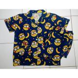 Harga Cloth 88 Baju Tidur Piyama Wanita Setelan Celana Panjang Motif Papoy Minion Navy New