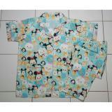Toko Cloth 88 Baju Tidur Piyama Wanita Setelan Celana Panjang Motif Tsum Character Biru Online