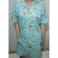 Harga Cloth 88 Daster Wanita Motif Gudetama Biru Branded
