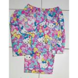 Jual Beli Loth 88 Baju Tidur Piyama Wanita Setelan Celana Panjang Motif Hello Kitty Pita Pink Di Dki Jakarta