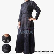 Clothing Anda - Gamis RB Jaguar Pita - Black