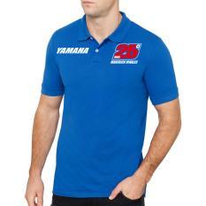 Jual Clothing Online Polo Shirt Maverick Vinales 01 Biru Di Dki Jakarta