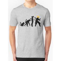 Clothing Online T-shirt Evolution Dragon Ball - Abu-abu