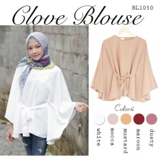 Clove Blouse Elona Batwing Top High Quality Rina Blouse Atasan Wanita BL1050
