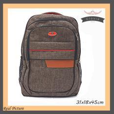 Jual Clovis Tas Ransel Backpack Kantor Sekolah Premium Qb003 Polo Point 55 Ori