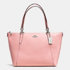 Tas Coach Ava Blush Pink Leather Authentic Original Asli USA Store