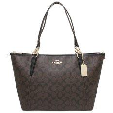 Tas Coach Ava Signature Brown/ Black Bag. Authentic Original Asli USA Store