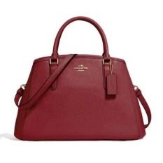 Tas Coach Margot  Crossgrain Leather F57527 Authentic Original Asli USA Store.