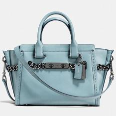 Coach Swagger 27 Glovetanned Cloud Leather 59542 Medium Authentic Original USA Store