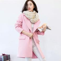 Coat Musim Dingin Luaran Baju Hangat Winter Wool Furing Anti Angin New