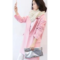 Coat Musim Dingin Luaran Baju Hangat Winter Wool Furing Anti Angin New - Hy0adt