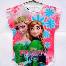 Coco Ice - Kaos Anak - Frozen Fever - Putih