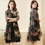 Jual Cocoepps Antik Motif Bunga Wanita Pakaian 2017 Musim Panas 2 Pieces Dresses Sesuai Dengan Gaya Korea Vestidos Internasional Branded Original