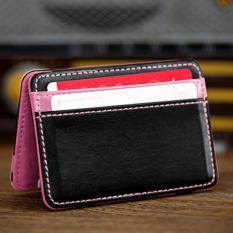 Beli Coconie Mini Netral Magic Bifold Dompet Kulit Tempat Kartu Dompet Dompet Uang Klip Gratis Pengiriman Intl Pakai Kartu Kredit