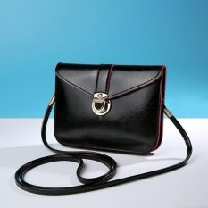 Toko Coconiey Fashion Zero Purse Bag Leather Handbag Single Shoulder Messenger Phone Bag Black Int One Size Int Oem Di Tiongkok