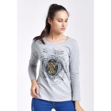 Kualitas Coconut Island Ladies Loose Custom Grey Coconut Island