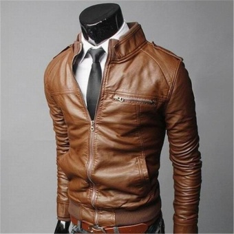 More Tahan Terhadap Dr . Source · Cocotina Men's Genuine Lambskin Leather Jacket .
