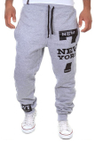 Beli Cocotina Santai Pria Baju Tari Pakaian Olah Raga Longgar Celana Harem Celana Busana Celana Olahraga Abu Abu Abu Muda Murah