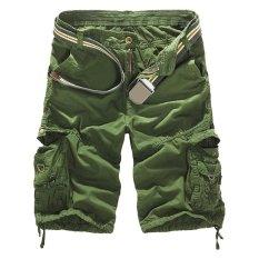 Harga Cocotina Kasual Pria Pants Bang Pendek Sports Pants Kargo Militer Secara Keseluruhan Hijau Tentara Online Hong Kong Sar Tiongkok