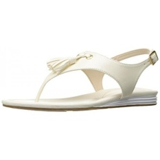 Cole Haan Womens Rona Grand Flat Sandal, Gading, 8 B KAMI-Internasional