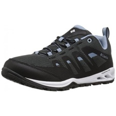 Columbia Womens Vapor Vent Hiking Shoe, Black/Dark Mirage, 6 B US - intl