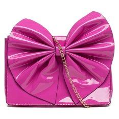 Spek Compania Fantastica Bow Clutch Pink Indonesia