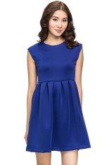 Compania Fantastica Sleeveless Dress Biru Indonesia Diskon